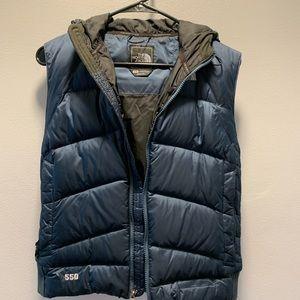 Women's Blue North Face Vest